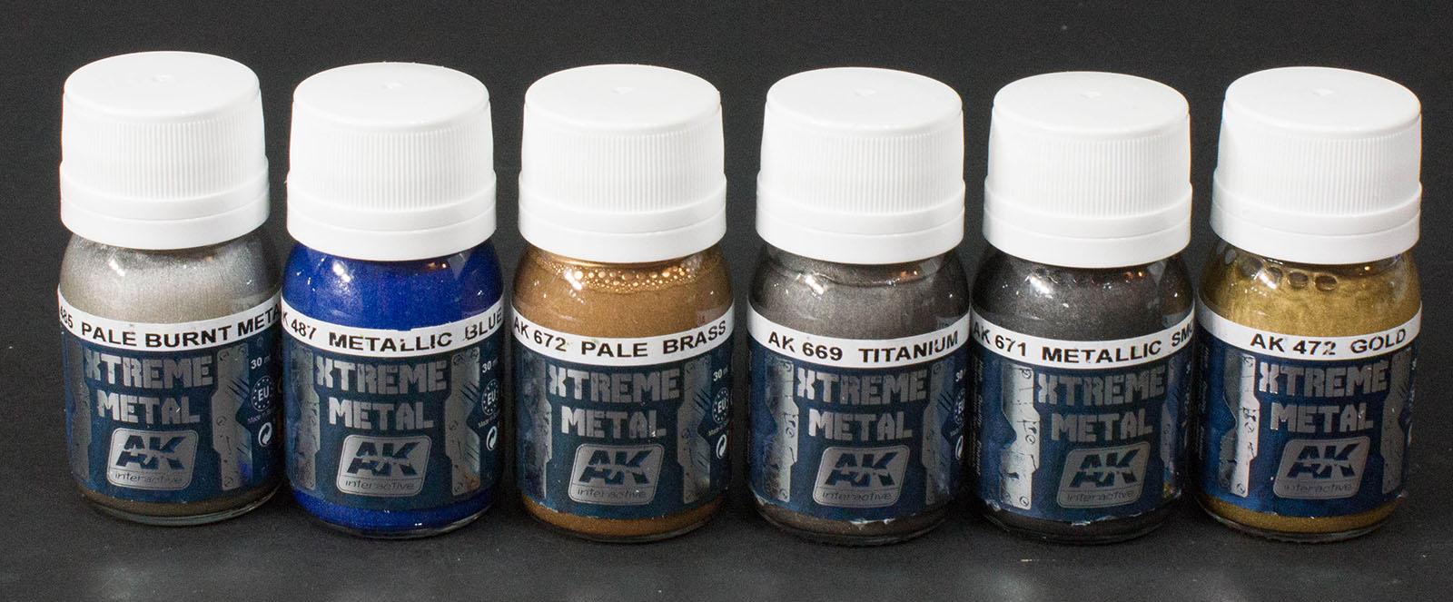 Ak Interactive Xtreme Metal Colors Paint Review